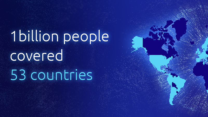 Sigfox Celebrates Covering One Billion People Across The Globe