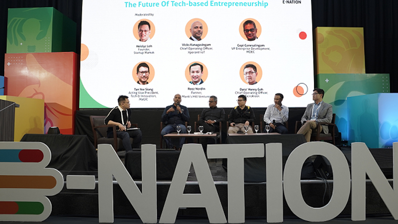 Panellist-discussing-the-future-of-tech-entrepreneurship