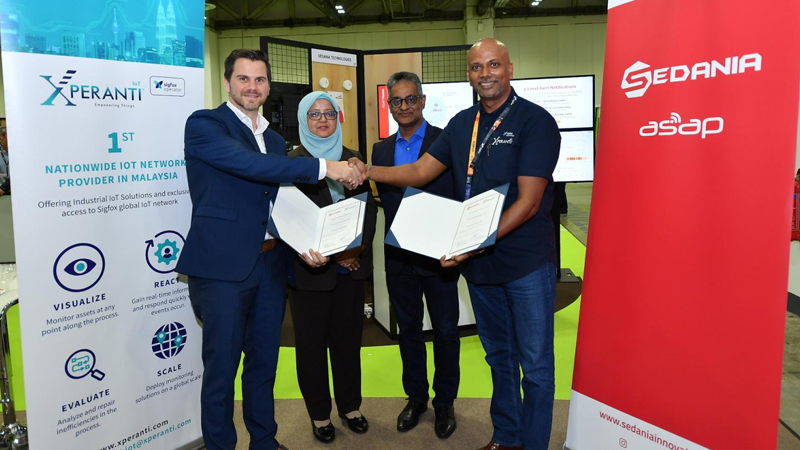Malaysia's SEDANIA Launches Innovative IOT Product in Singapore