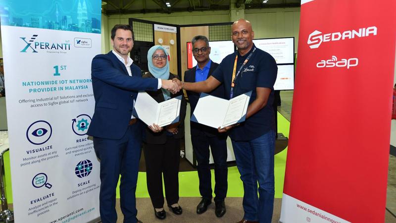 Malaysia's SEDANIA Launches Innovative IOT Product in Singapore