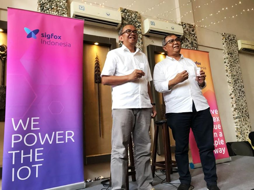 Sigfox Indonesia Press Conference