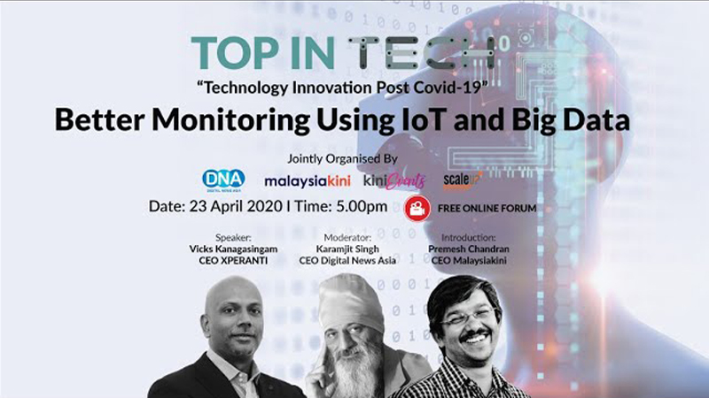 Top In Tech: Better Monitoring with IoT & Big Data